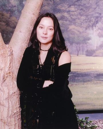 Meg Tilly Portrait in Black Dress Photo by  Movie Star News