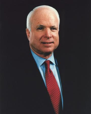 John McCain in Tuxedo Portrait Photo by  Movie Star News