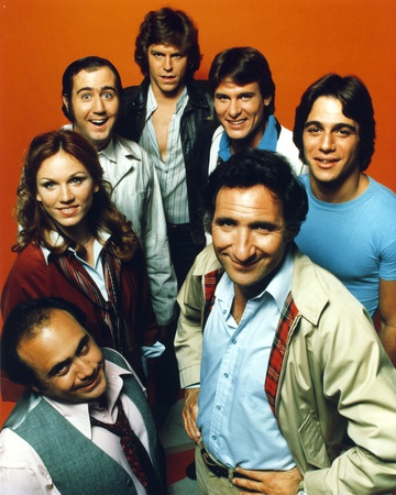 Taxi A Lady and Six Men smiling on Orange Background Photo by  Movie Star News
