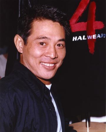 Jet Li Close Up Portrait Photo by  Movie Star News