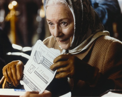 Rosemary Harris Portrait in Brown Leather Gloves Photo by  Movie Star News
