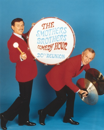 Smothers Brothers Poster Foto av  Movie Star News