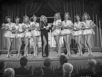 A scene from Ladies of the Chorus. Photo by  Movie Star News