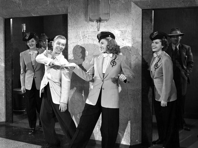 Andrew Sisters on Suit Happy Dancing Photo by  Movie Star News