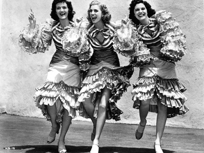 Andrew Sisters Flamenco Dancers Photo by  Movie Star News