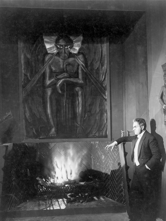 A scene from Dr. Mabuse the Gambler. Photo by  Movie Star News