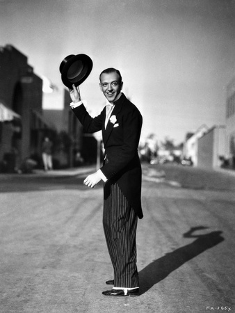 Fred Astaire Tipping Top Hat Off Photo by J Miehle