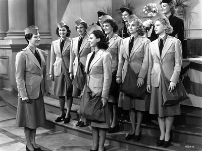Andrew Sisters on Suit Group Talking Portrait Photo by  Movie Star News