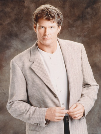 David Hasselhoff Posed in a Suit Photo by  Movie Star News