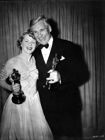 Claire Trevor Holding Trophy in Classic Photo by  Movie Star News