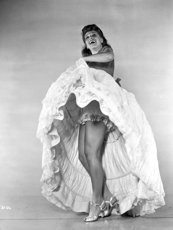 Dinah Shore Dancing in Black and White Photo by  Movie Star News