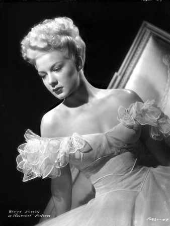 Betty Hutton on a Ruffled Sleeves Portrait Photo by  Movie Star News