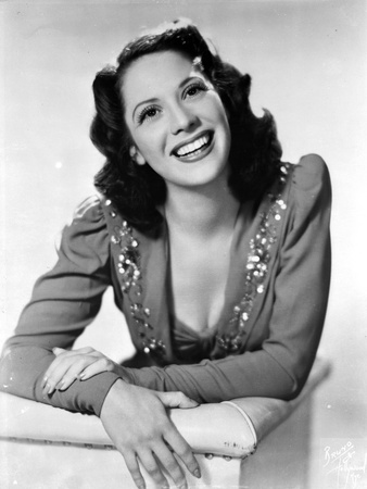 Dinah Shore Portrait in Classic Photo by  Movie Star News