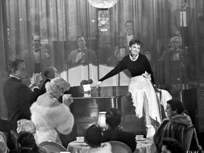 Helen Morgan on a Stage Entertaining a Crowd Photo by  Movie Star News