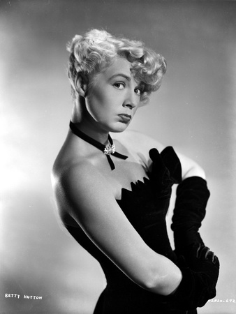 Betty Hutton Lin here Evening Gloves Photo by  Movie Star News