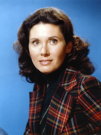 Elinor Donahue Blue Background Close Up Portrait Photo by  Movie Star News