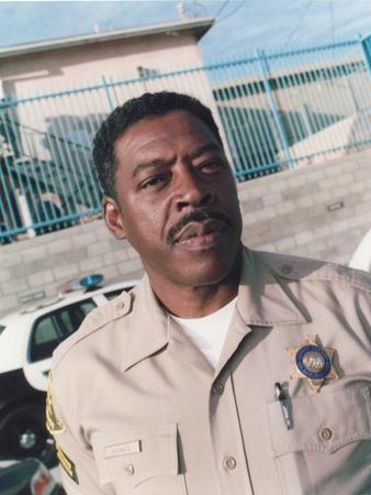Ernie Hudson in A Police Uniform Photo by  Movie Star News