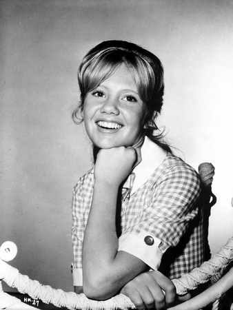 Hayley Mills smiling in Classic Portrait Photo by  Movie Star News