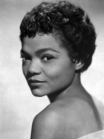 Eartha Kitt Portrait in Topless Photo by  Movie Star News