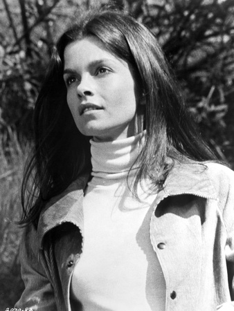 Genevieve Bujold Seated in Classic Photo by  Movie Star News