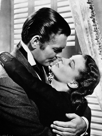 Gone With The Wind Kissing Scene Photo by  Movie Star News