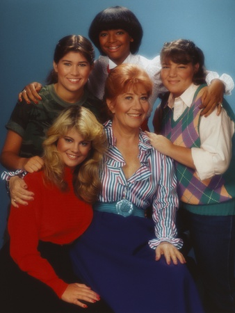 Facts Of Life Posed with Arms Over the Shoulders of Another Photo by  Movie Star News
