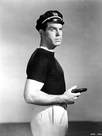 Fred MacMurray in Black Classic Portrait Photo by  Movie Star News