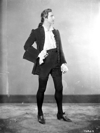 John Barrymore wearing a Black Coat and Tights Photo by  Movie Star News