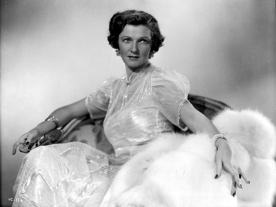 Irene Castle Leaning Sideways with White Coat Photo by  Movie Star News