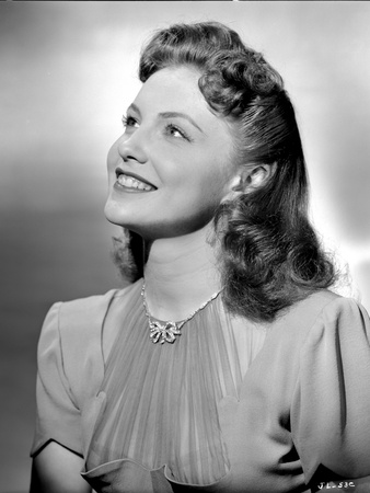 Joan Leslie Looking Up and smiling Photo by  Movie Star News