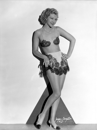 Joyce Compton wearing a Floral Two Piece in a Classic Portrait Photo by  Movie Star News