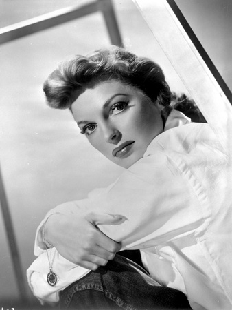 Julie London on a Long Sleeve Top sitting Portrait Photo by  Movie Star News