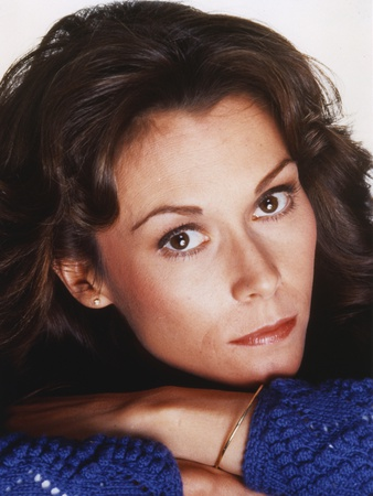 Kate Jackson Curly Hair Close Up Portrait Photo by  Movie Star News