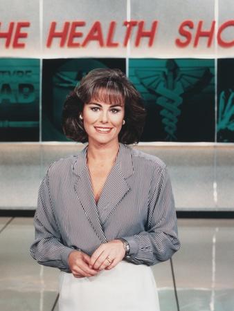 Kathleen Sullivan smiling in Portrait Photo by  Movie Star News