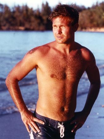 Matthew Davis Posed in Swimming Trunks Photo by  Movie Star News