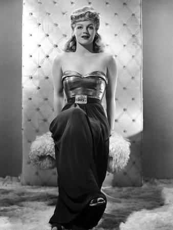 Martha O'Driscoll on Tube Top Photo by  Movie Star News