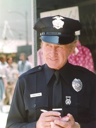 Lloyd Bridges in Police Uniform Candid Shot Photo by  Movie Star News