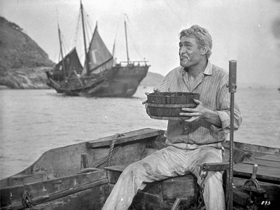Lord Jim Man Eating Food in The Small Boat Photo by  Movie Star News