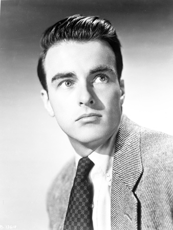Montgomery Clift Close Up Portrait in Black Coat and Tie Photo by  Movie Star News
