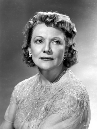Minna Gombell on a Lace Top Portrait Photo by  Movie Star News