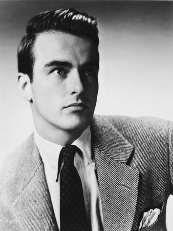 Montgomery Clift Portrait in Black Coat and Tie Photo by  Movie Star News