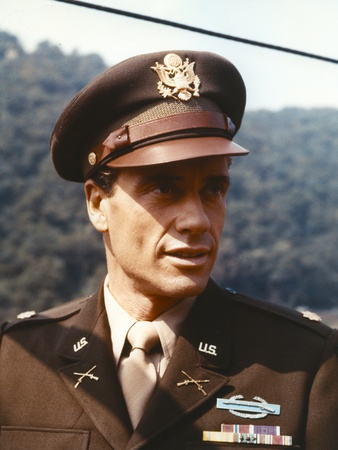 Mel Ferrer in Police Uniform Portrait Photo by  Movie Star News