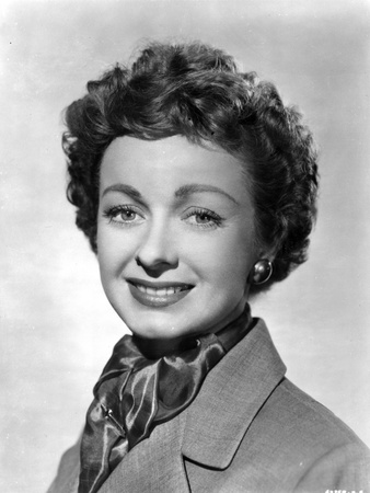 Noel Neill Portrait in Classic with Scarf Photo by  Movie Star News
