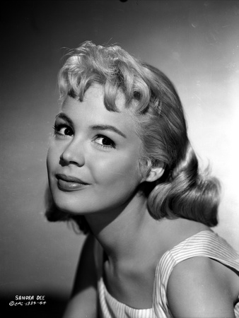 Sandra Dee in White Mini Skirt Portrait Photo by  Movie Star News