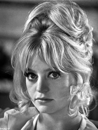 Portrait of Goldie Hawn Black and White Photo by  Movie Star News
