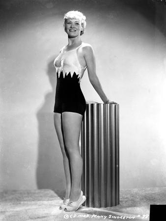 Penny Singleton Posed in Sexy Sportswear Portrait Photo by  Movie Star News