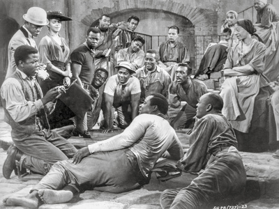 Porgy And Bess Portrait of People Gathered Together Excerpt from Film Photo by  Movie Star News
