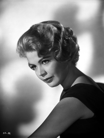 Sandra Dee in Black Gown Portrait Photo by  Movie Star News