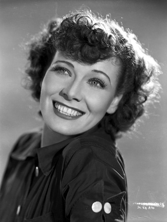 Penny Singleton smiling wearing Black Blouse Close Up Portrait Photo by  Movie Star News