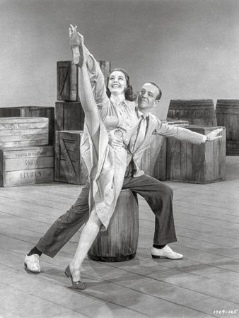 Silk Stockings Dancing in Black Shirt and a Dress Photo by  Movie Star News
